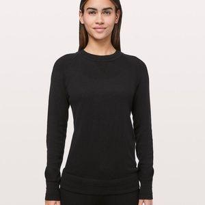 Lululemon Apres Your Way Black Sweater Size Medium